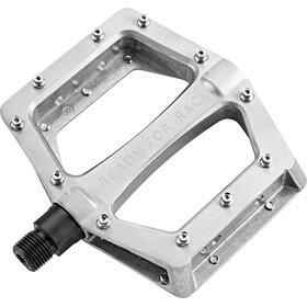 Cube RFR CMPT Flat Pedalen, zilver